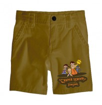 Chhota Bheem Shorts - Group - Khaki