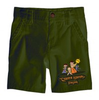 Chhota Bheem Shorts - Group - Green