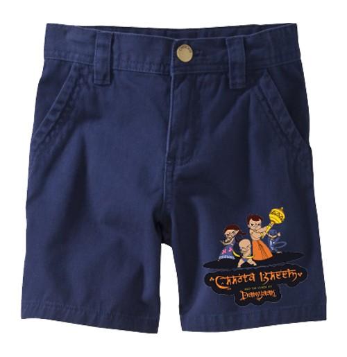Chhota Bheem Shorts - Group - Blue