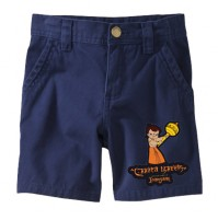 Chhota Bheem Shorts - Single - Blue