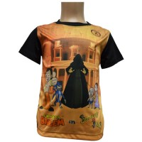 Journey to Petra - Black Sleeves - Sublimation T-Shirt