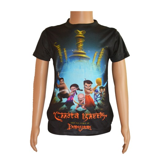 Chhota Bheem And The Curse Of Damyaan - Sublimation T-Shirt