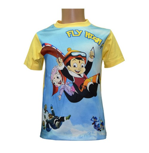 Sublimation T-Shirt - Yellow