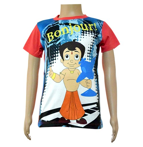Boys Sublimation T-Shirt - Blue