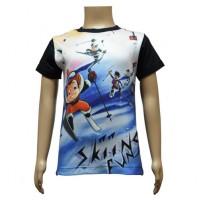 Boys Sublimation T-Shirts - Black