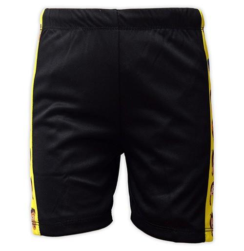 Chhota Bheem Boys Swim Shorts - Black
