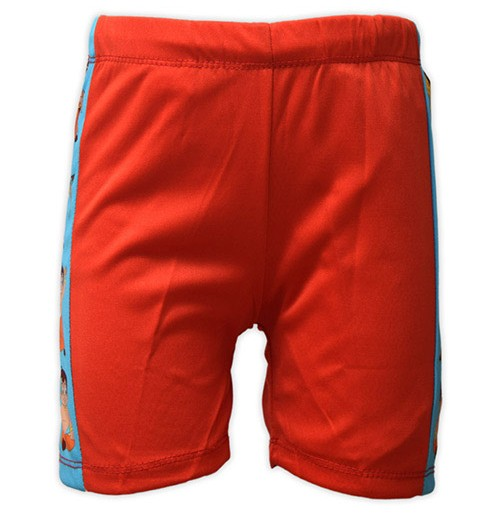 Chhota Bheem Boys Swim Shorts - Red
