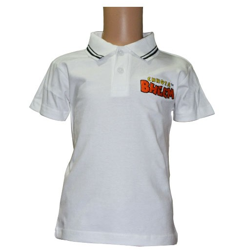 Boys Polo T-Shirt - White