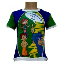 Bali T-Shirt - Green and Blue