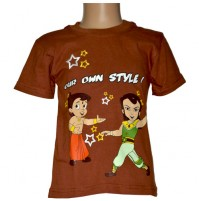 Chhota Bheem T-Shirt - Brown