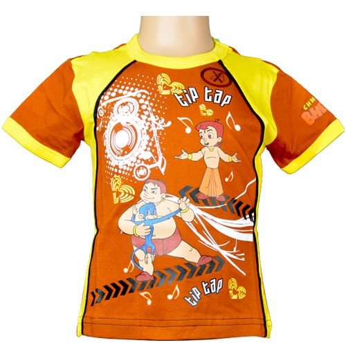 Chhota Bheem T-Shirt - Brown
