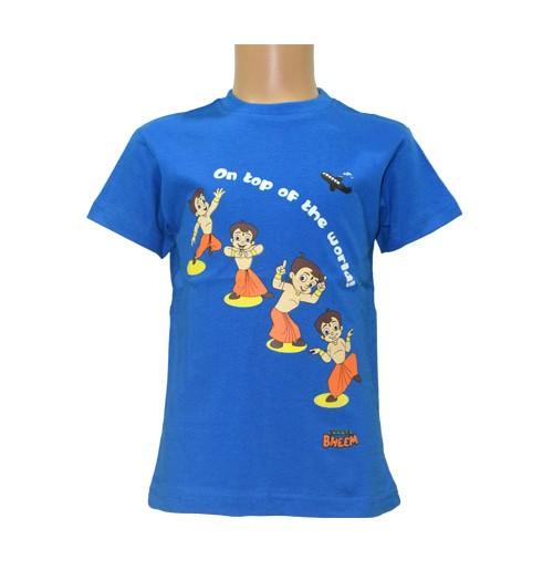 Chhota Bheem Boys T-Shirt - Cobalt Blue