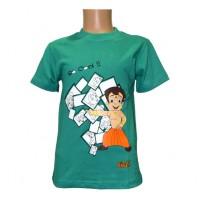 Chhota Bheem Boys T-Shirt - Turquoise