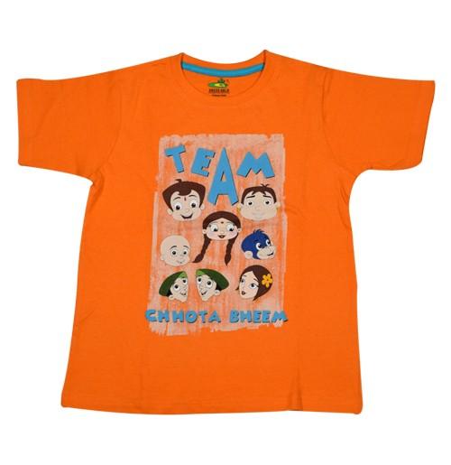 Chhota Bheem T Shirt - Orange