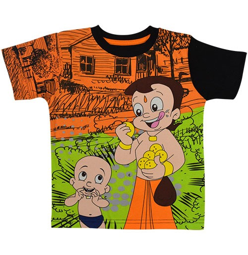 95227147 Buy Chhota Bheem T Shirt - Green Online Best Prices in India | Avail COD