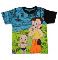 Chhota Bheem T Shirt - Grey Melange 1