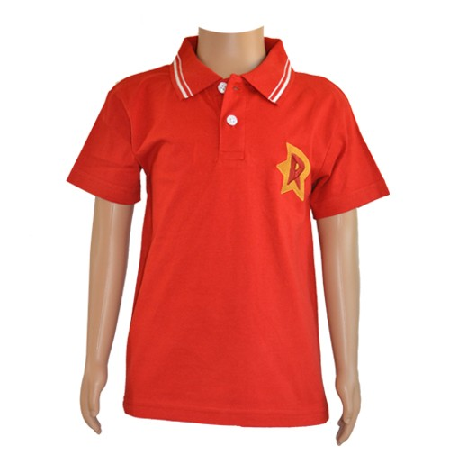 Boys Polo T-Shirt - Red