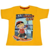 Mighty Raju T Shirt - Yellow