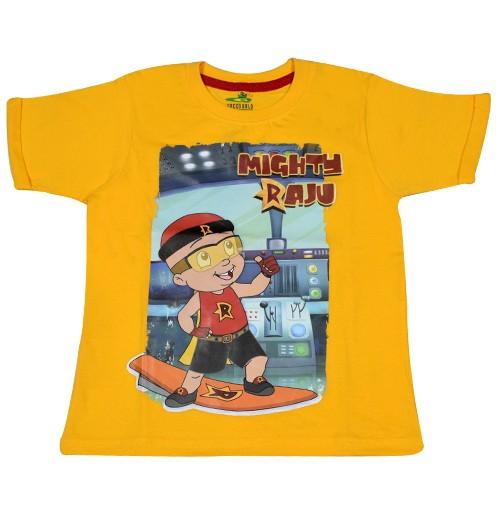 Mighty Raju T Shirt - Yellow