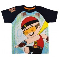 Mighty Raju T Shirt - Navy