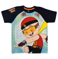 Mighty Raju T Shirt - Navy
