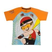 Mighty Raju T Shirt - Orange