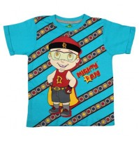 Mighty Raju T Shirt - Blue