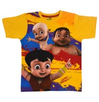 Super Bheem T Shirt - Yellow