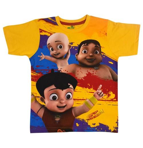 Super Bheem T Shirt - Yellow