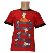 Chhota Bheem T-Shirt - Red Bali
