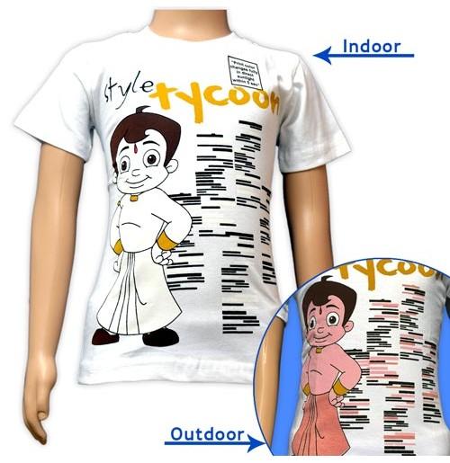 Color Changing T-Shirt - Chhota Bheem