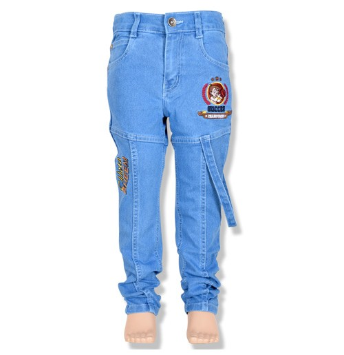 Chhota Bheem Boys Denim Pant - Light Blue