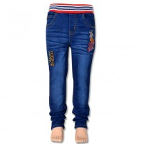 Chhota Bheem Boys Denim Pant - Navy Blue