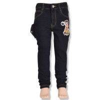 Chhota Bheem Boys Denim Pant - Black