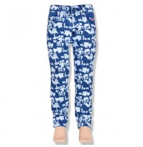 Chutki Girls Denim Pant - Ink Blue