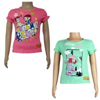 Girls Top Combo - Pink and Green