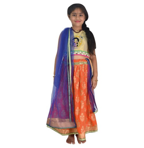 3fe7dc3e28fb25 Buy Girls Traditional Wear Online at Best Prices at GreenGoldStore.com