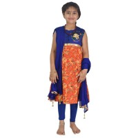 Ethnic Wear - Girls Salwar Kameez 3 Pc Set