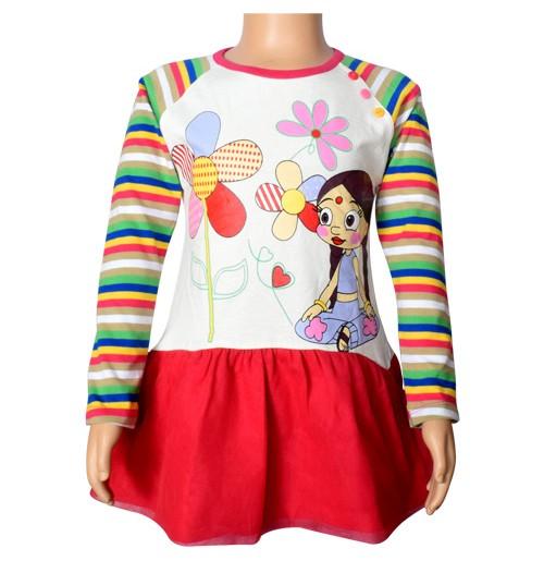 Chutki Full Sleeve Top - Snow White