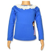 Chutki Full Sleeve Top - Ampro Blue