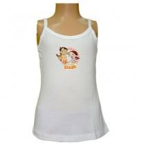 Chhota Bheem Girls Vest - White