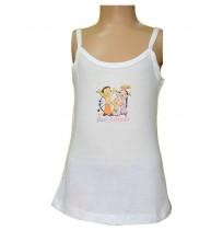 Chhota Bheem White - Girls Vest