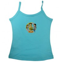 Chhota Bheem Girls Vest-Blue