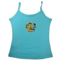 Chhota Bheem Girls Vest-Blue