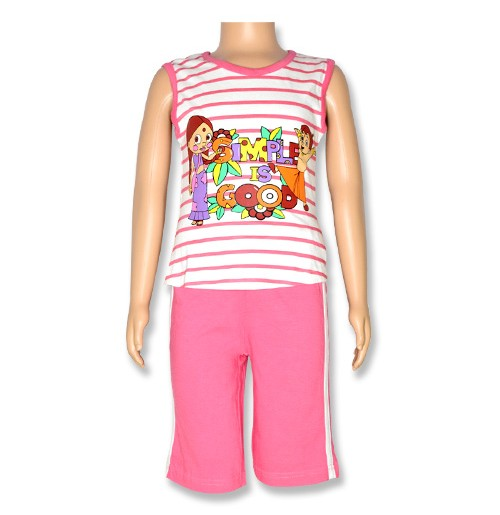 Chutki Night Suit - Pink
