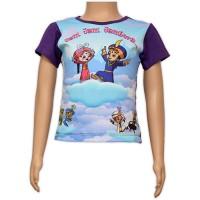 Girls Sublimation Top - Purple