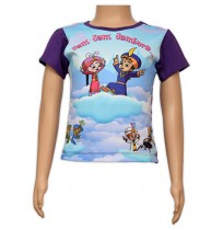 Girls Sublimation Top - Purple