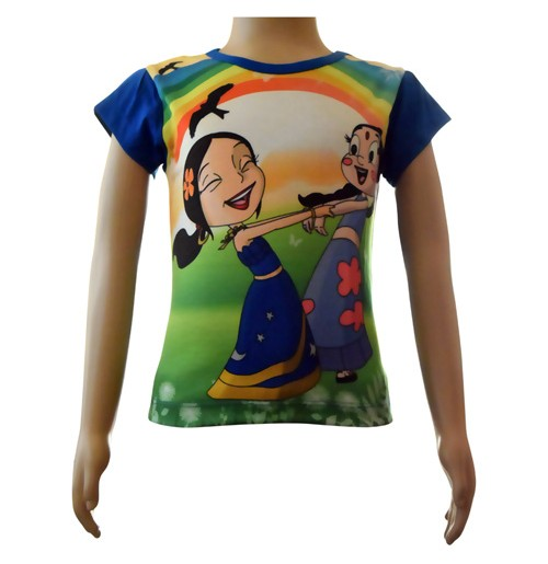Girls Sublimation Top - Rainbow