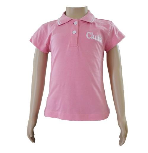Chutki Girls Polo T-Shirt - Pink