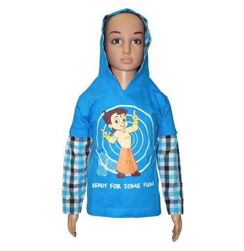 Chhota Bheem Hoodies - Blue